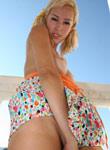 Tight Teen Debbies Shirt Skirt Blows Away - Picture 15