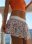 Tight Teen Debbies Shirt Skirt Blows Away - Picture 6
