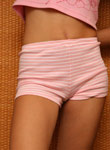 Sexy Teen Debbie Pulls Off Pink Cotton Undies - Picture 7